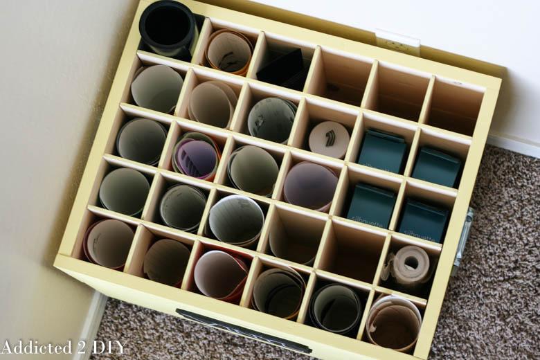 DIY Vinyl Storage Crate