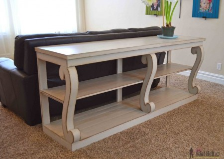 Console-table-with-curvy-legs