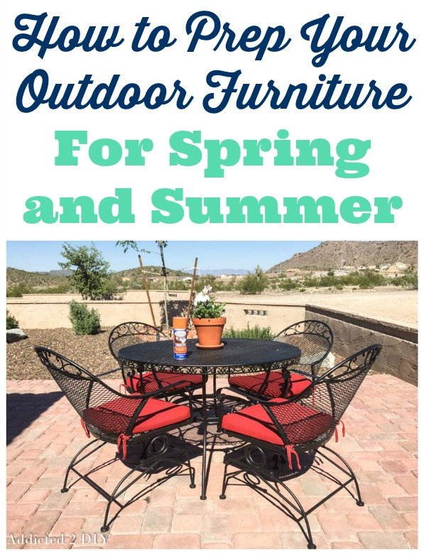 How to Prep Your Outdoor Furniture for Spring and Summer