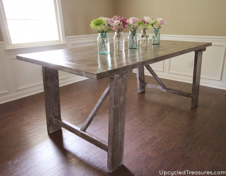 diy-white-washed-west-elm-inspired-dining-table-upcycledtreasures