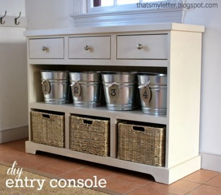 entry console