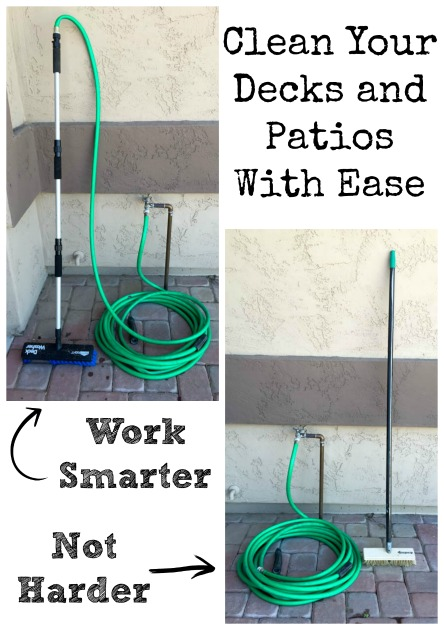 Clean Your Decks and Patios With Ease