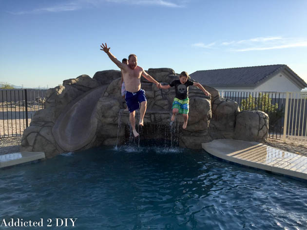 What We Learned from DIYing Our Own Pool