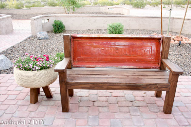 tailgate bench tutorial