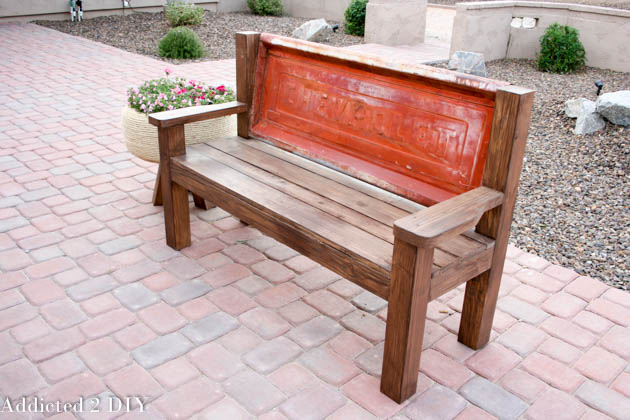 build a tailgate bench tutorial
