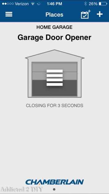open-garage-with-smartphone