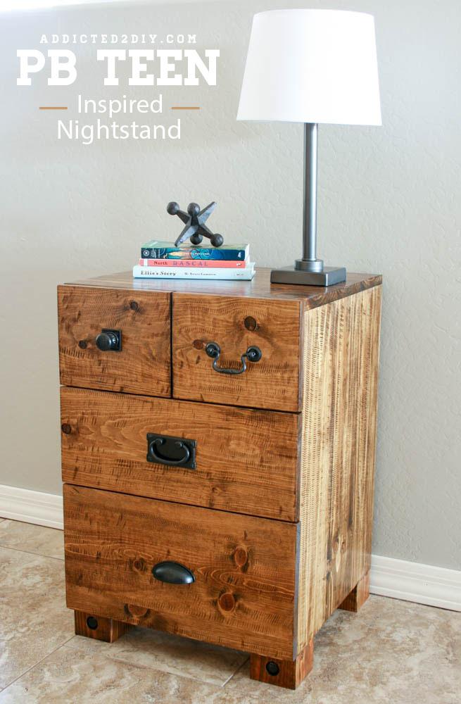 PB Teen Inspired Nightstand