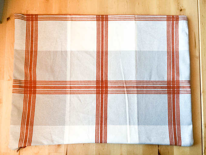 Turn The Pillow Case Right Side Out And Use A Towel, Or Ruler, Or Whatever  You Can Find And Stick It Inside The Pillow Case To Push Out The Corners  And Make ...