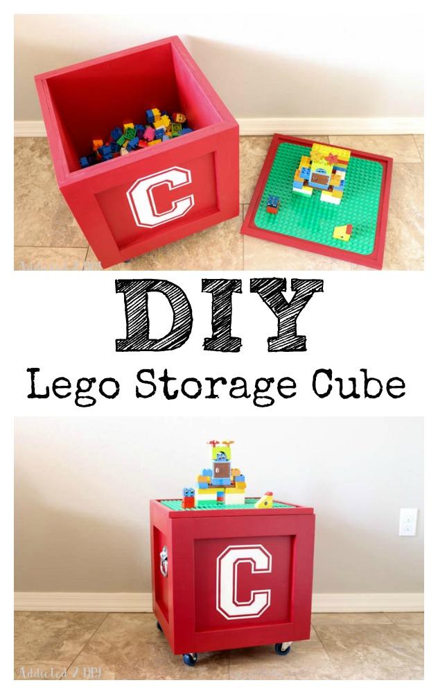 DIY Lego Storage Cube