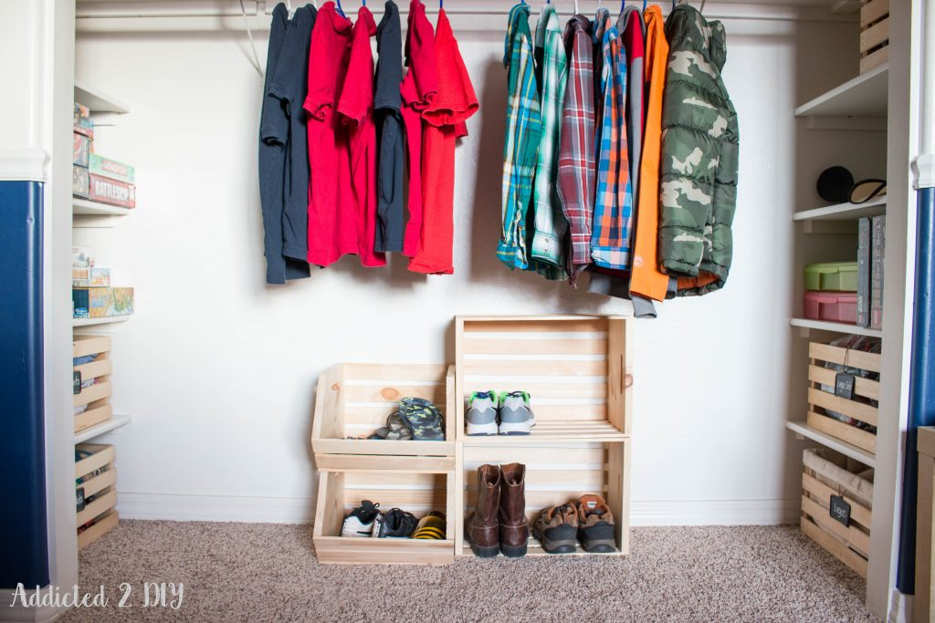How to store clothes without a closet or dresser