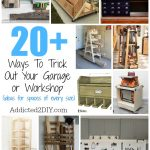 No matter how big of a workspace you have for DIYing, these ideas have got you covered. From storage to ways to make your workspace more efficient, you're sure to be inspired.