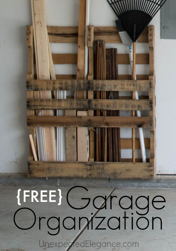 Inexpensive Garage Wall Shelving
