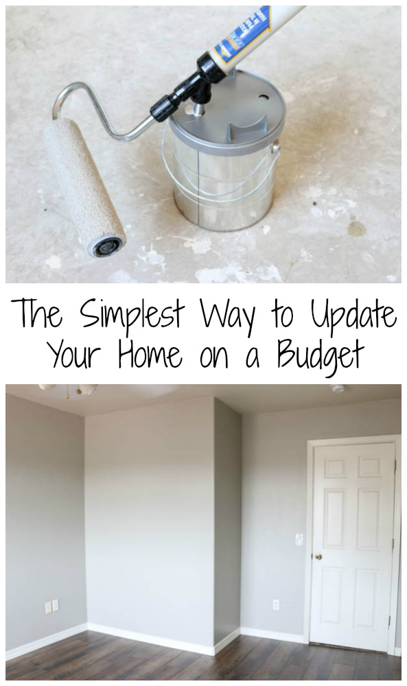 The Simplest Way to Update Your Home on a Budget
