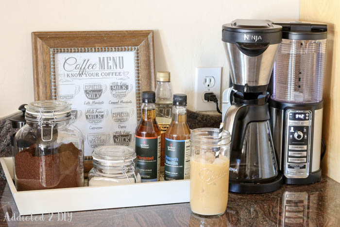 A Simple Coffee Station Plus My Latest Obsession