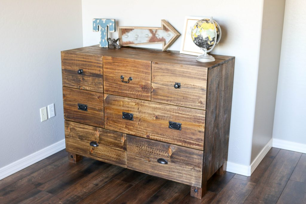 DIY PB Teen Knockoff Dresser