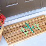 DIY Cedar Doormat