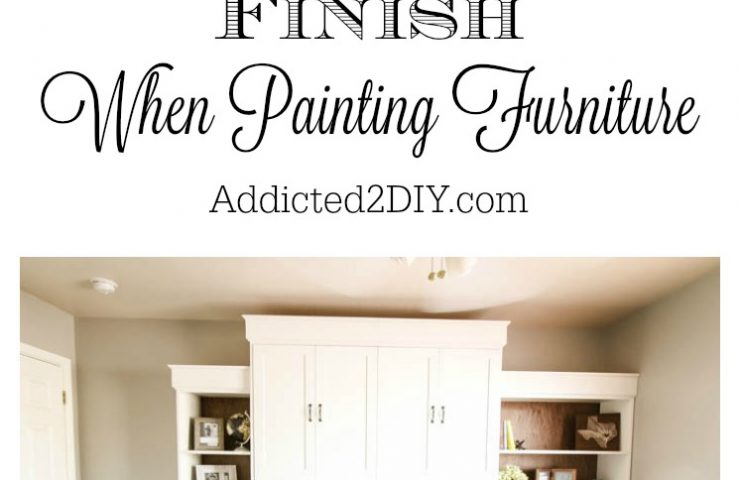 Modern Farmhouse Murphy Bed – How To Get A Professional Paint Finish