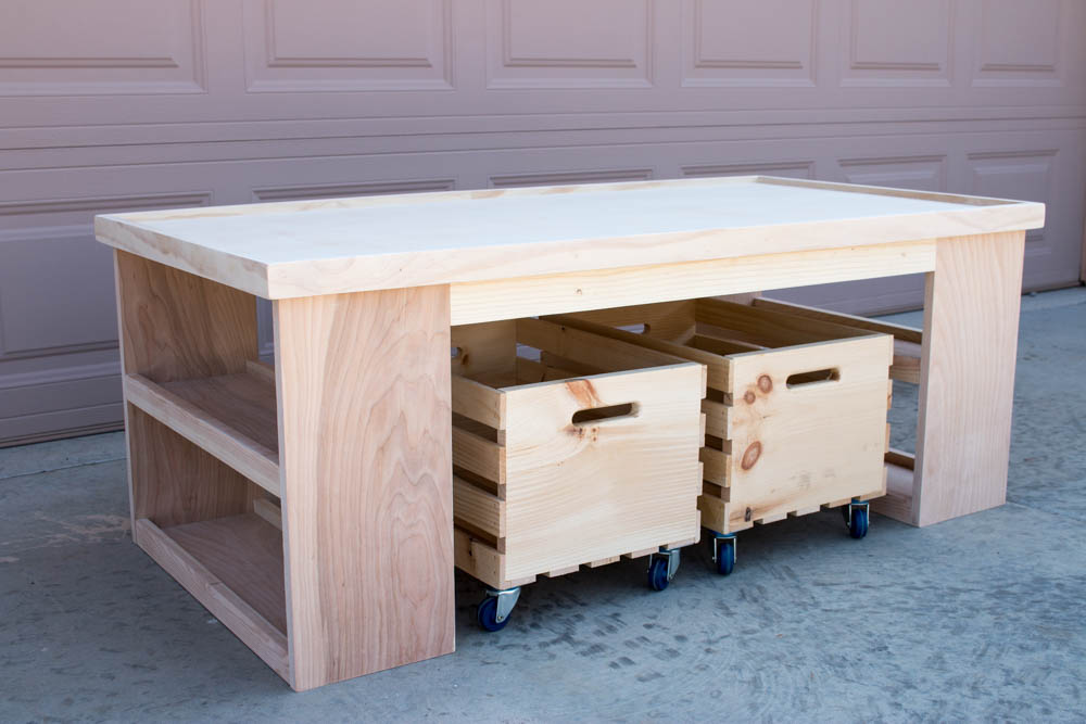 diy kids activity table