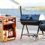 DIY Grilling Accessory Cart