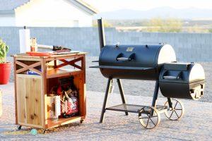 DIY Grilling Accessory Cart