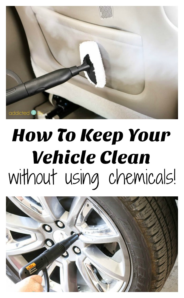 How To Keep Your Vehicle Clean without Using Chemicals