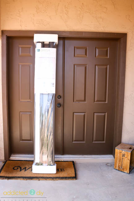 Brisa Retractable Screen Door