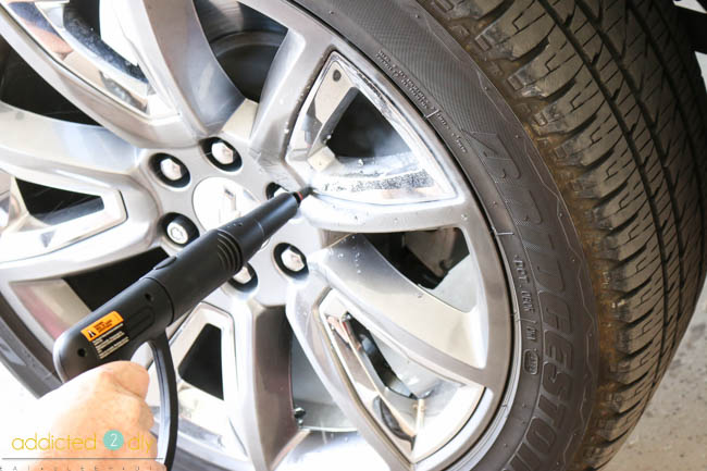 cleaning wheels without chemicals