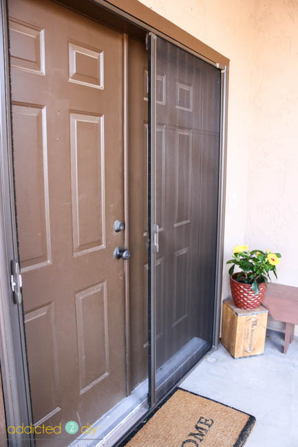 ODL retractable screen door