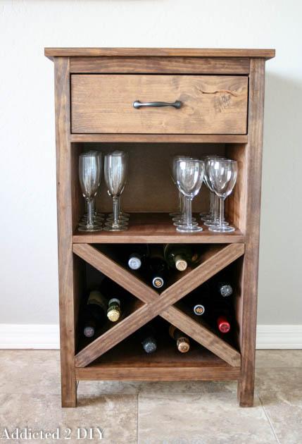 X wine cabinet