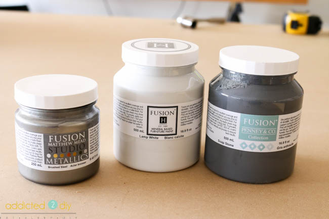 Fusion Mineral Paint Fall Decor