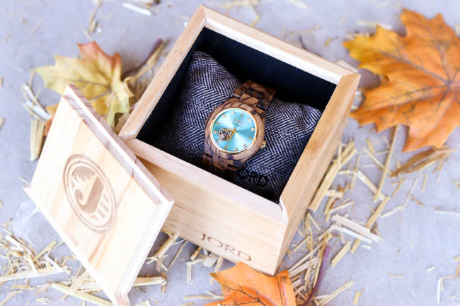 Jord Wood Watch Cora Collection