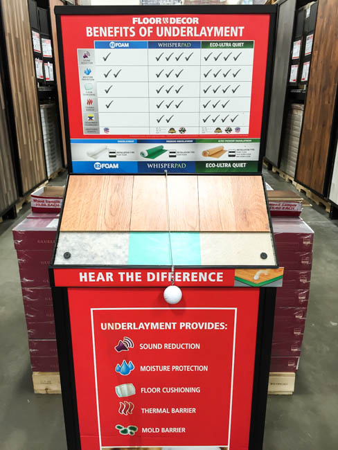 How to choose underlayment