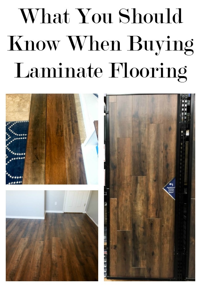 What You Should Know When Buying Laminate Flooring