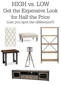 Living Room Furniture:  Get the High-Priced Look for Less!
