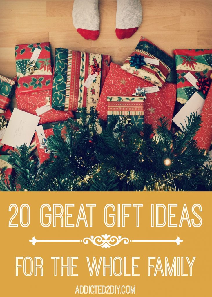 20 great gift ideas for the whole family addicted 2 diy 20 great gift ideas for the whole family negle Image collections
