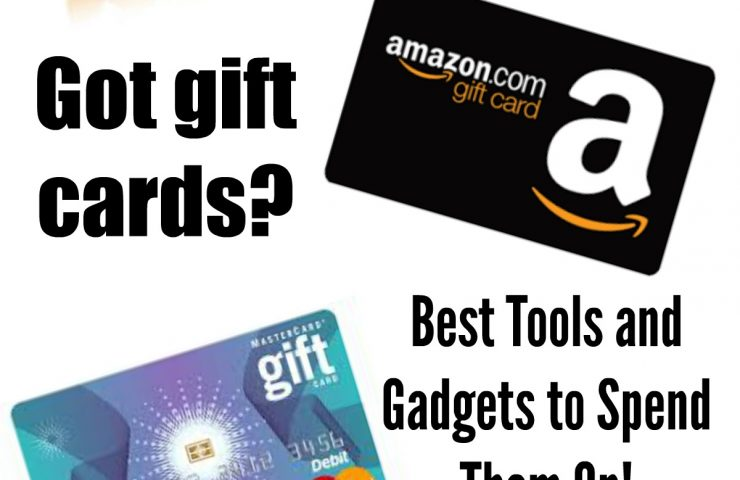 Best Tools To Spend Your Christmas Gift Cards On