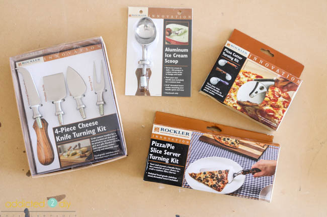 wood turning hardware kits