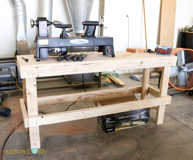 diy lathe table