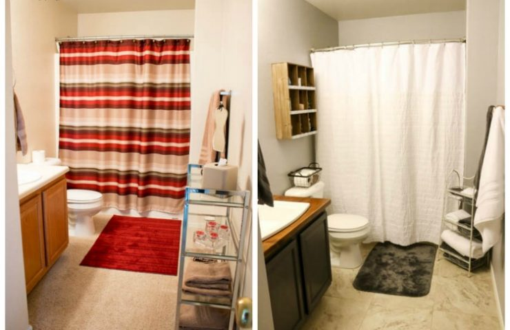 Modern Farmhouse Guest Bathroom Makeover