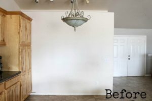 How To Install A Faux Shiplap Wall – Plus a Giveaway!!!