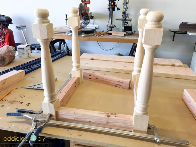 diy side table - step 3