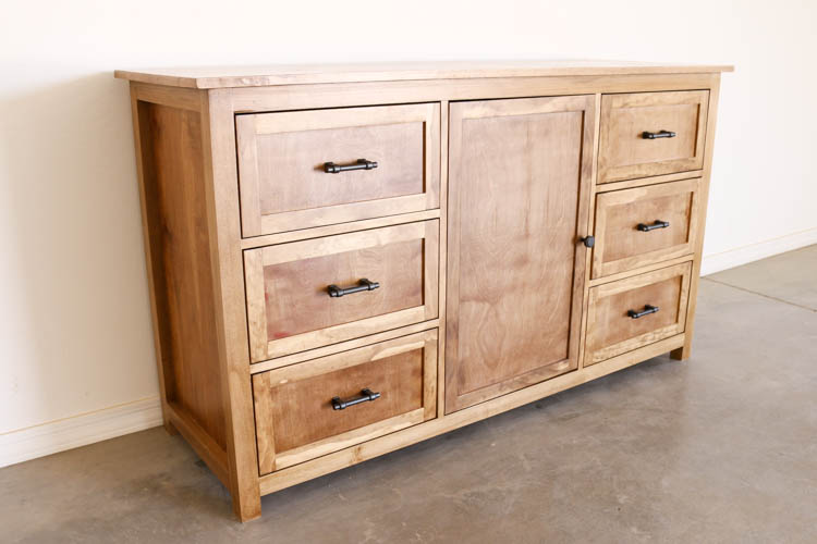 Today, Iu0027m Partnering With Rockler Woodworking And Hardware To Bring You  The Plans AND Video On How To Build This Gorgeous DIY Rustic Dresser!