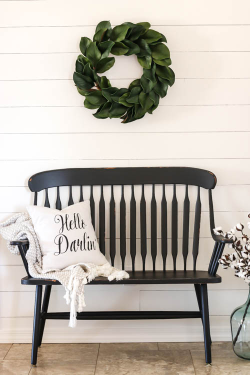 How To Paint a Farmhouse Bench