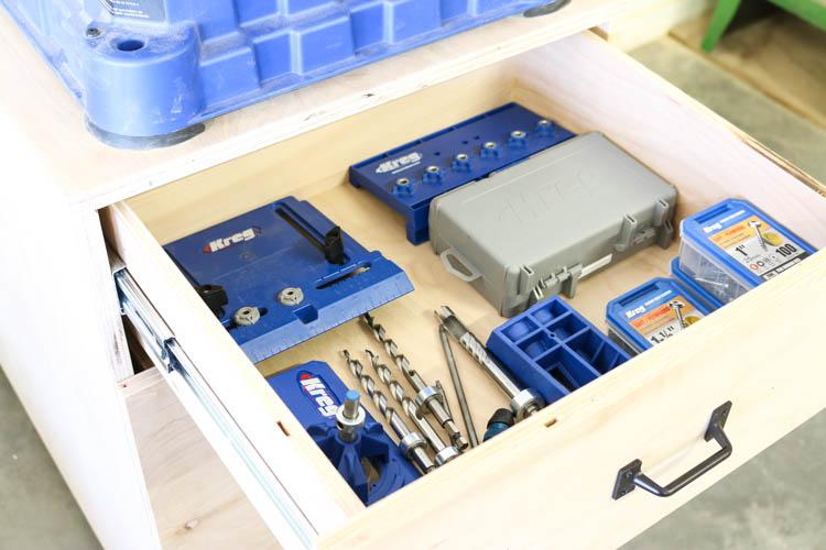 storage for Kreg tools