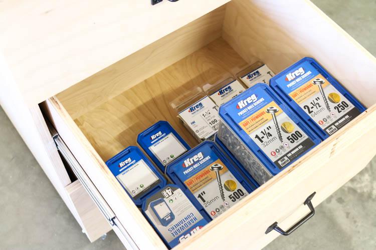 storage for screws