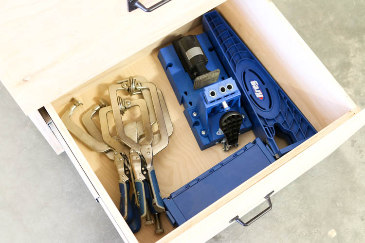 storage for kreg tools