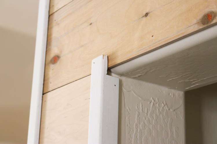 How To Easily Install Faux Shiplap Addicted 2 Diy
