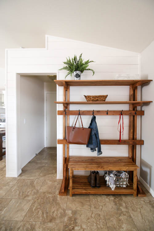 How To Create Faux Shiplap