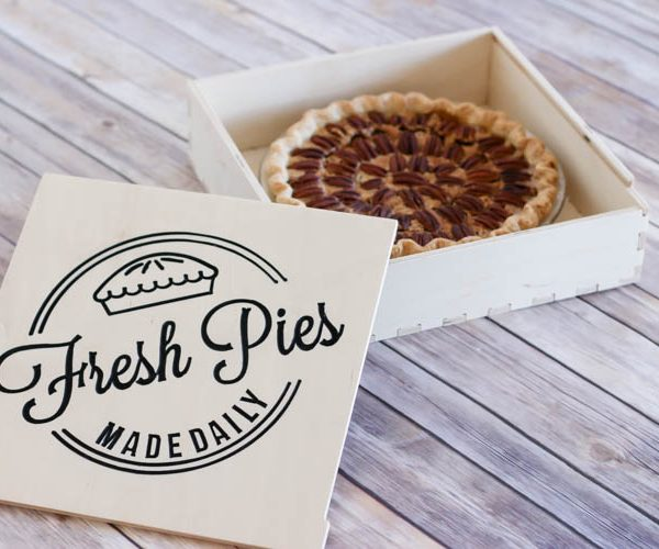 Learn How to Carve a Wooden Pie Box using a CNC