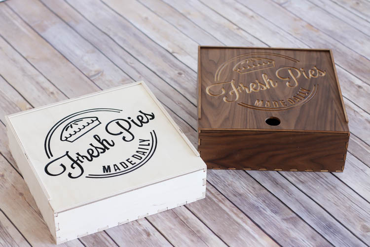 How to make a wood pie box using a CNC